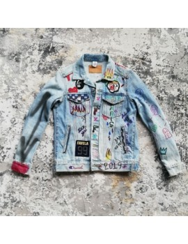 "Denim Jacket ""Too Close"""